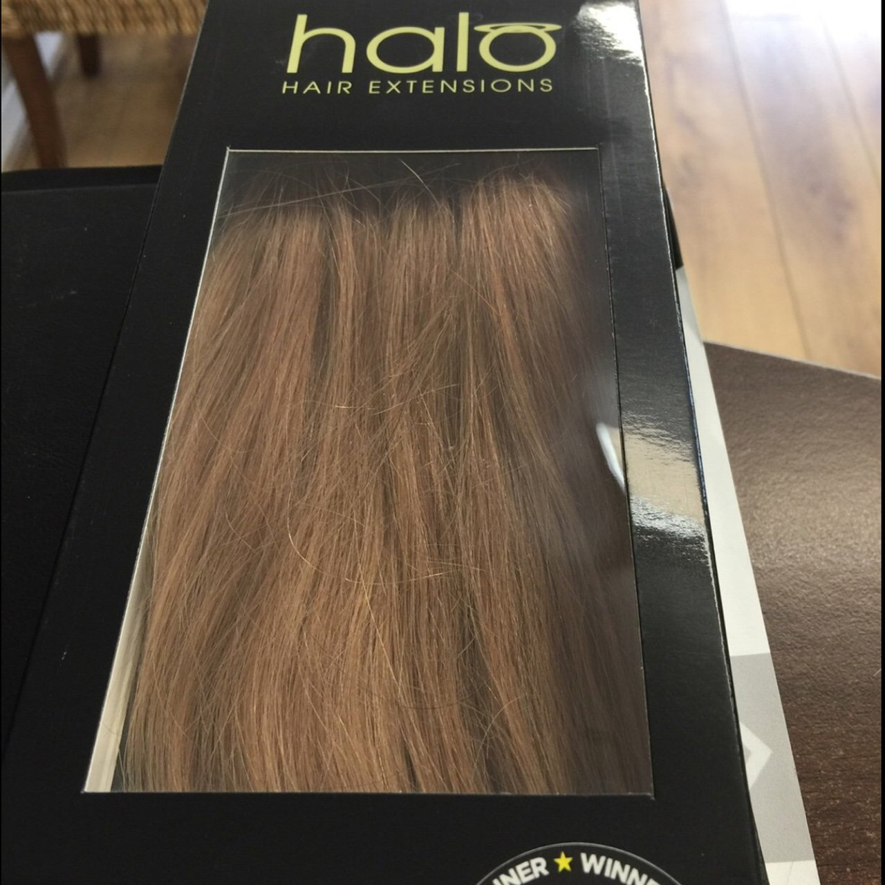 Lowered Price 100 Authentic 20 Human Halo Hair Extensions Depop
