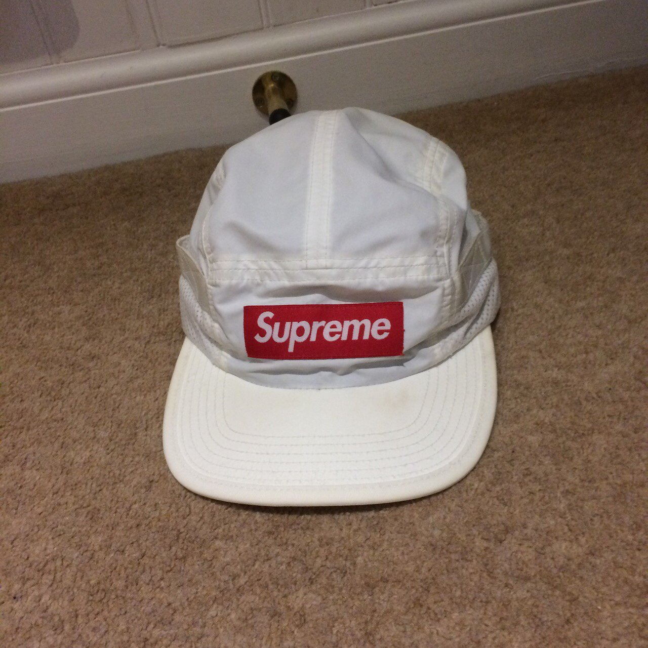 Supreme bogo hat - worn a bunch of times - great for the - a - Depop f7ebc7a5bfb