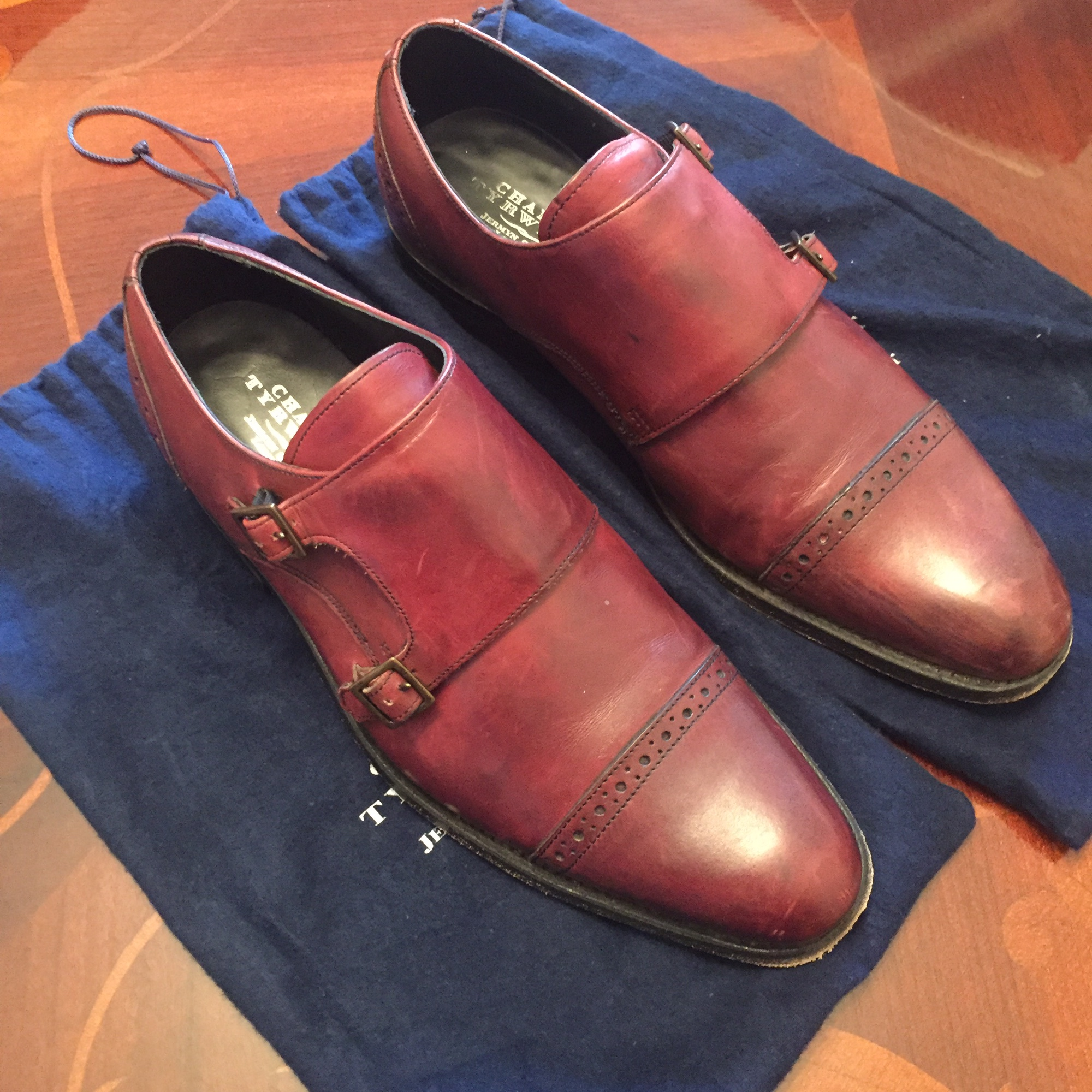 NEW NEW NEW CHARLES TYRWHITT TAN ALL LEATHER GOODYEAR WELTED