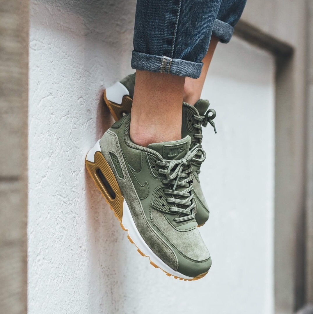 official photos 08fe1 4b883 Women's Nike air max 90 SE in oil green. Sold out... - Depop