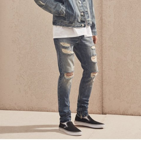 a7af95046832 @austin1731. 10 months ago. Pensacola, United States. Men's Brand New Pacsun  Stacked Skinny Ripped Zip Medium Jeans
