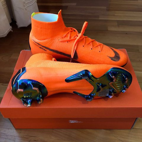 df6d8199dc6 Brand New Nike Mercurial Superfly VI 360 Elite FG Size - - - Depop