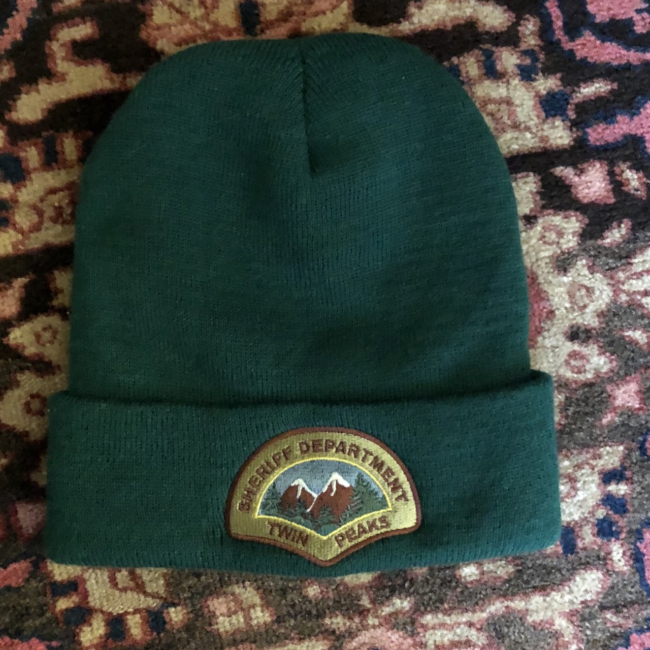 8247859759b Twin peaks sheriff department hat. From this pop up they had - Depop