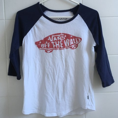 70a44593 @lsagee. 8 months ago. United States. VANS OFF THE WALL T-SHIRT Women's red  white and blue ...
