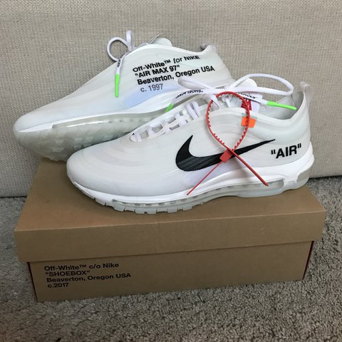Nike Air max 97 x Off White THE TEN Deadstock so Depop