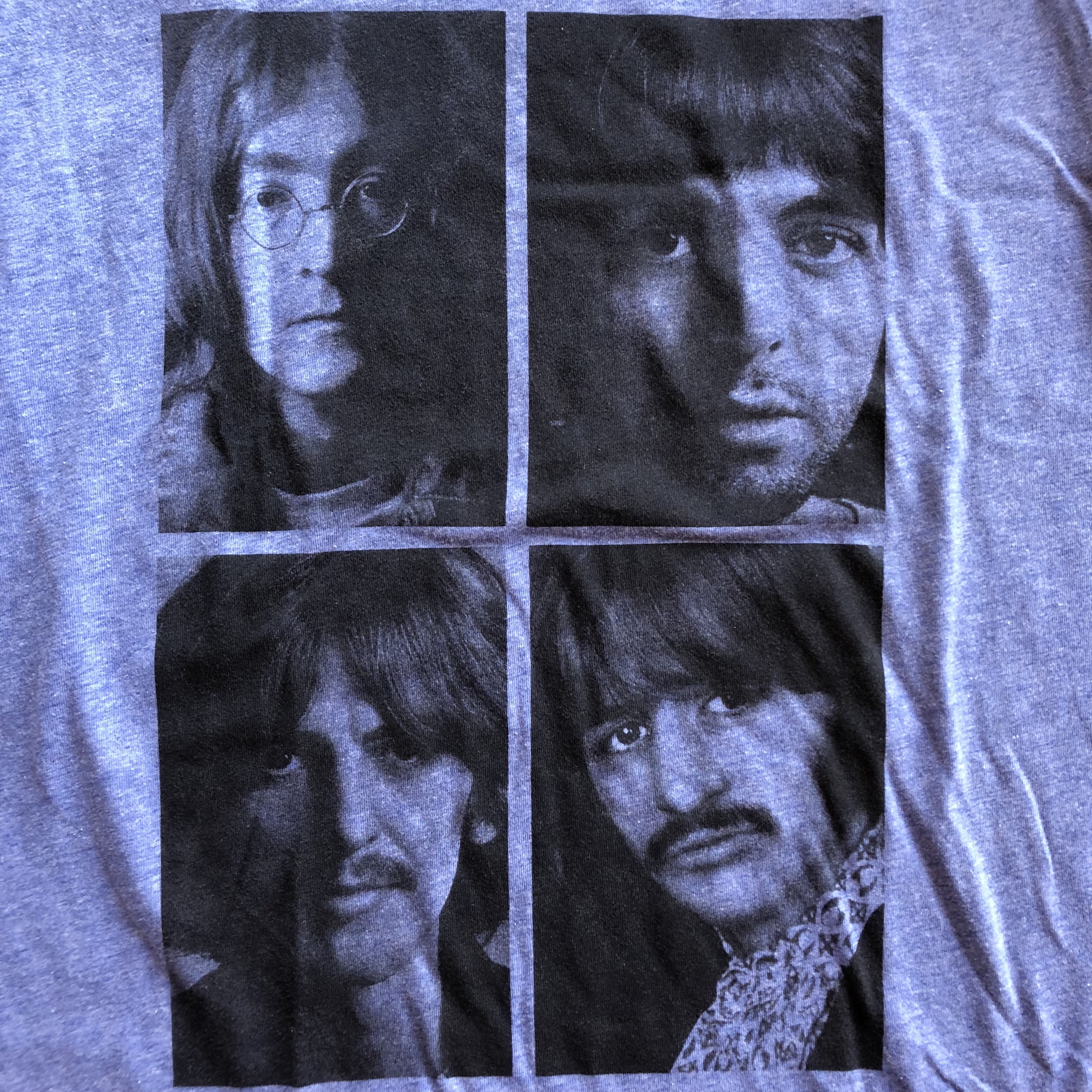 Official The Beatles With The Beatles Men/'s T-Shirt Lennon McCartney Fab Four