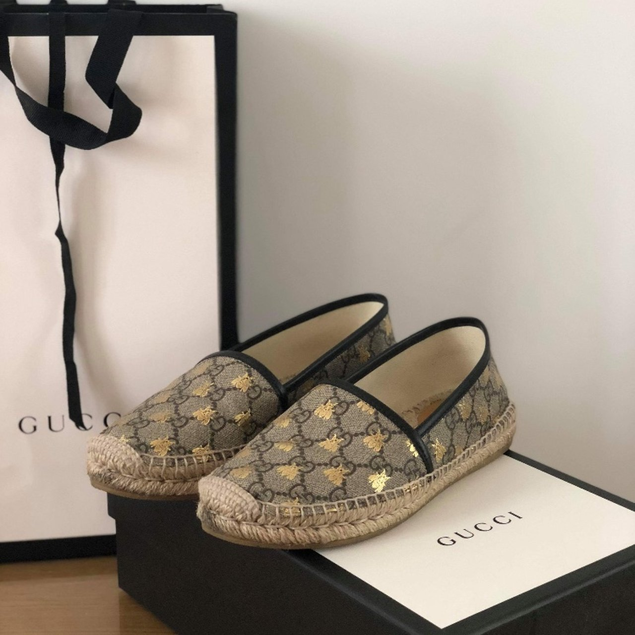71dbc8b0fe0 GUCCI ESPADRILLES- worn twice in perfect condition