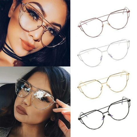 635e292a1440 @chandlerrcases. 2 years ago. Winter Haven, Florida, United States. Fashion  Women Cat Eye Clear Lens Glasses ...