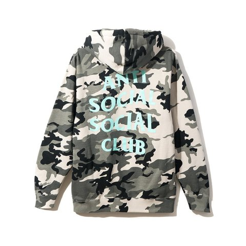 3a7cbc1580f54 Anti Social Social Club ASSC Melrose Ave. Hoodie Size hand - Depop