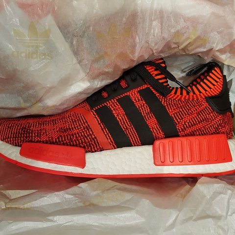 0fe64c653 Adidas NMD R1 AI Camo Red Red Apple 2.0 1 of 900 9 UK   in - Depop