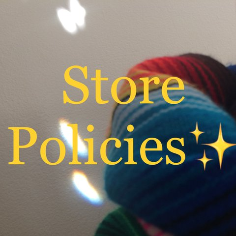 a60542ff Store policies, yay! Just so y'all know how this place gets - Depop