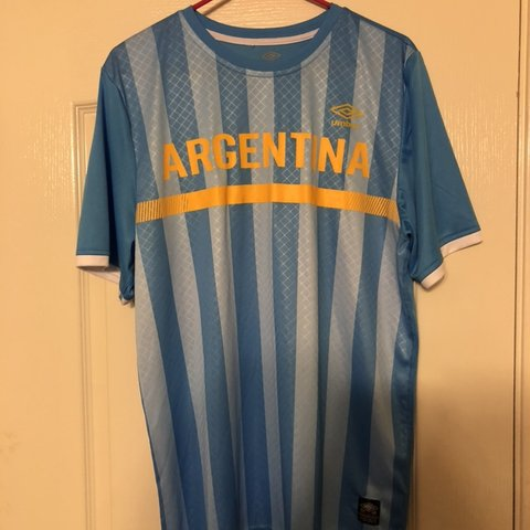 9b9a71c9bad @tommyfieri. 4 months ago. El Paso, United States. Argentina Umbro jersey. Great  condition. Size Large