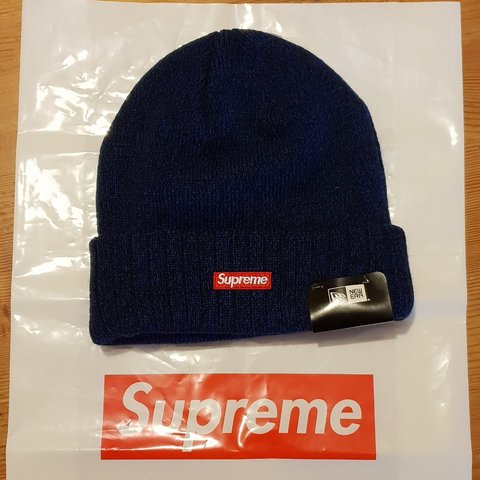 fe8ace3418 SUPREME NEW ERA ARC LOGO BEANIE ROYAL BLUE COLOUR