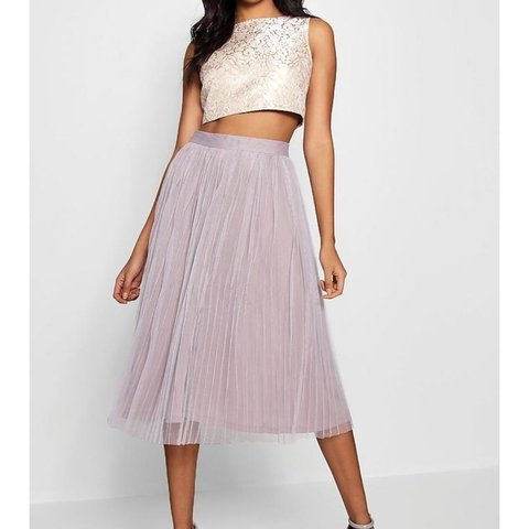9545a4aa4ae Boohoo boutique coord UK size 6 Brand new with tags Lilac - Depop