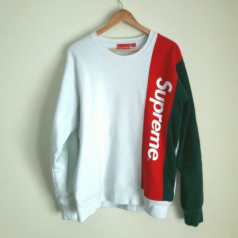 new concept 0be9c c4f20  madsacha10. 2 years ago. Inverness, UK. Supreme panelled crewneck ...