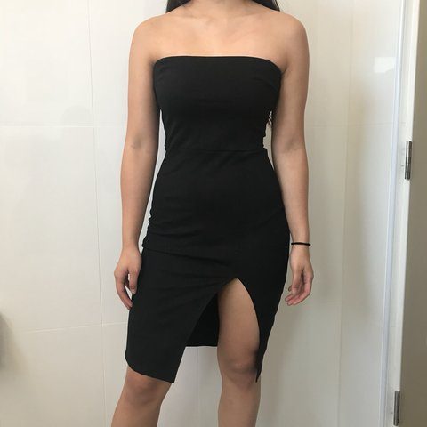 26dea0f343 Fashionnova Brady Tube Dress Brand New - Depop