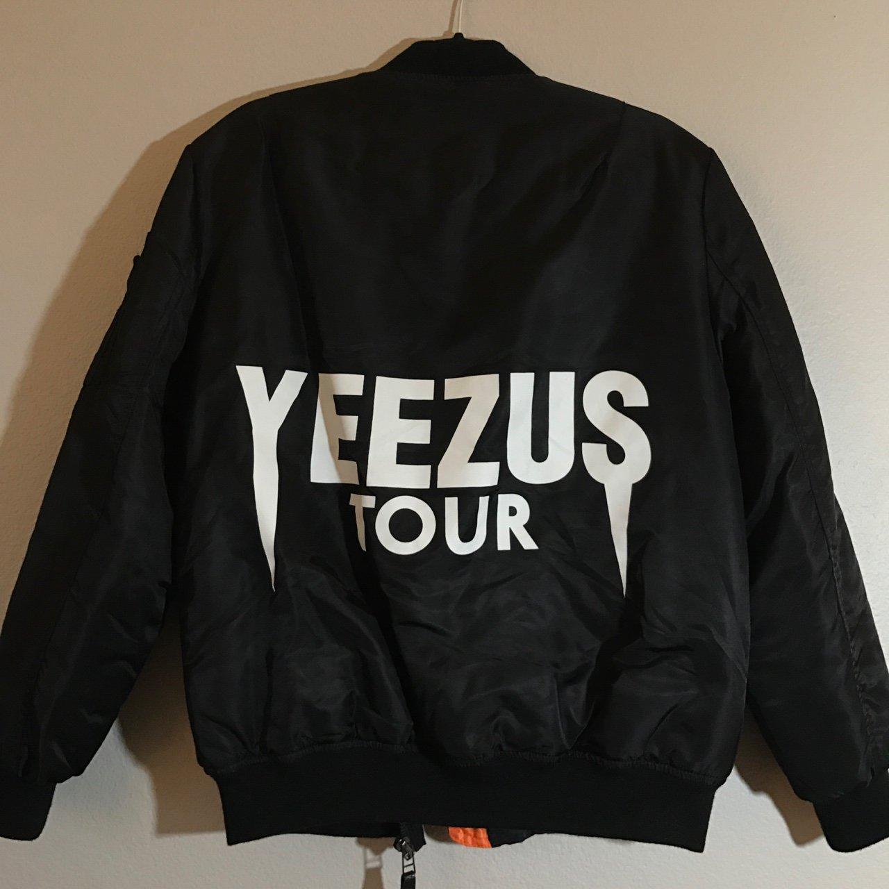 new product 9df95 09a52  aprillmariee. 2 years ago. Los Angeles County, United States. Black  Yeezus  Tour  Bomber Jacket ...