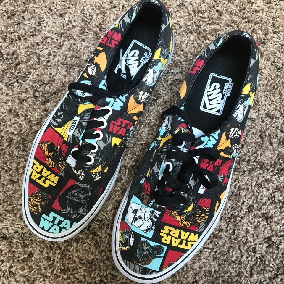 Limited edition Star Wars Vans, in very
