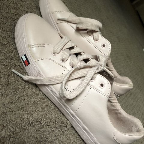 274168fc @faizah4849. 4 months ago. Fairfield, United States. tommy hilfiger baby  pink shoes size ...