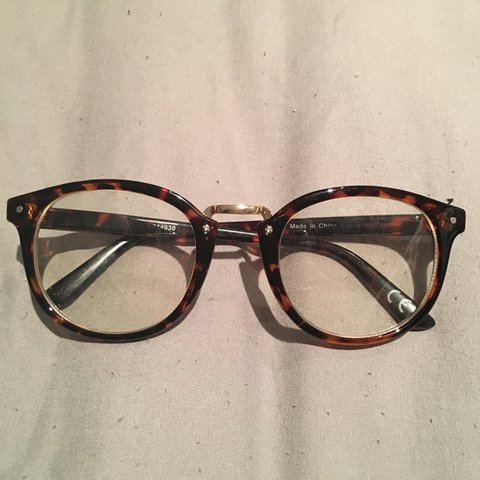 37db8ee282 New unused clear lens glasses. Bought off asos for £12. £8 - Depop