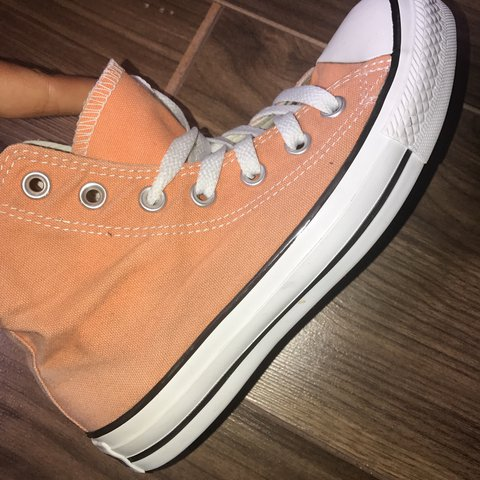 Real converse size 4 would defiantly also fit 4.5 as are big - Depop 518a45f8c