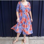 9db8bf726050 Vintage cotton dress in a.  38 · The cutest floral print maxi