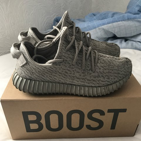 1e34ce6b6 Used pair of yeezy boost 350 moonrocks - condition 6 10 - is - Depop