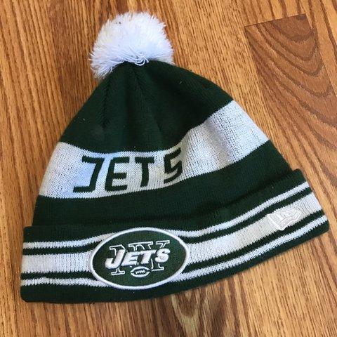 New Era NY Jets Knit beanie winter hat. Gently used af819750508d