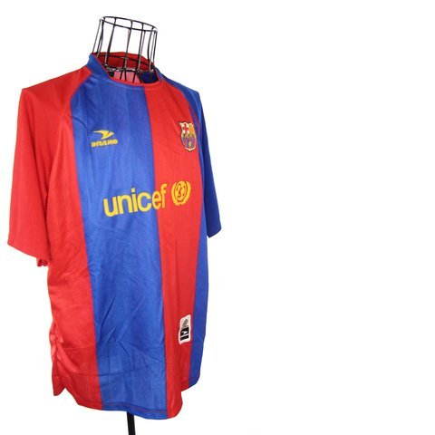0716c171a02 Vtg Fc Barcelona Unicef Jersey - Querciacb