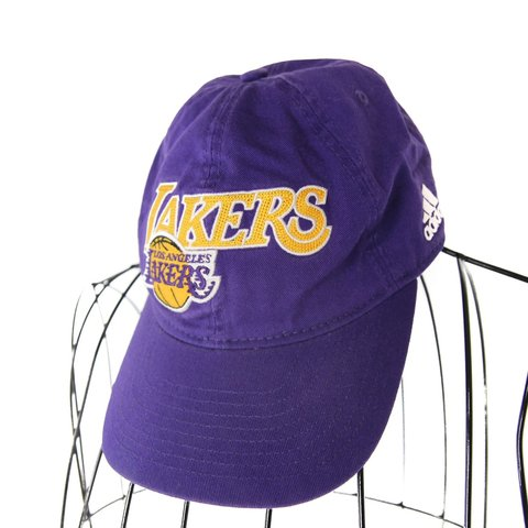 1b60e5af341769 @jakofallvintage. 9 months ago. Cedar City, United States. Vintage Adidas  Los Angeles Lakers embroidered dad hat. Very clean ...