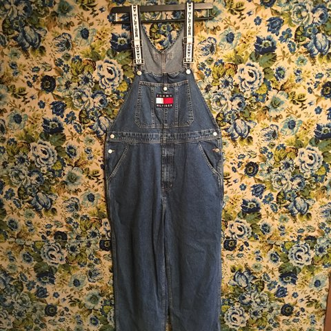 49fdb92e @hiddenrun. 2 years ago. Shepherdstown, United States. Vintage Tommy  Hilfiger overalls. Size - L