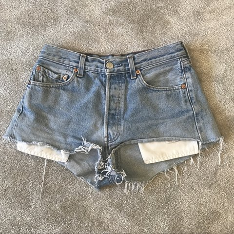 77bc30972a @charlottebream. 10 months ago. Wilmslow, United Kingdom. Urban outfitters  Levi ripped cut off denim shorts