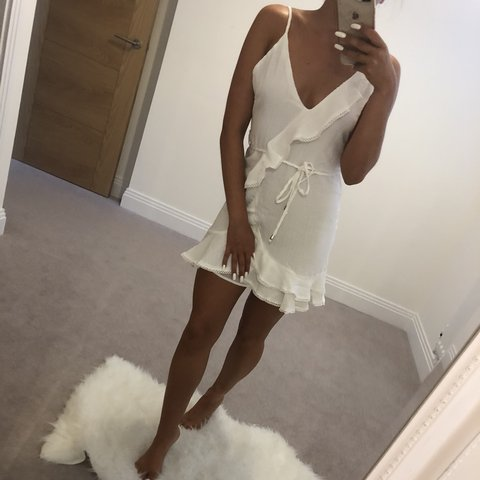 9ba14e7e98d Cute white summer dress  Summer  Holiday  Night-out  ibiza - Depop