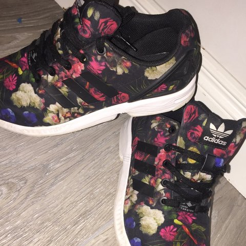 free shipping 5f98c 1eb01  keelymcdonnell. 2 months ago. Ballyvickmaha, Ireland. Floral   flower  print adidas zx flux ...