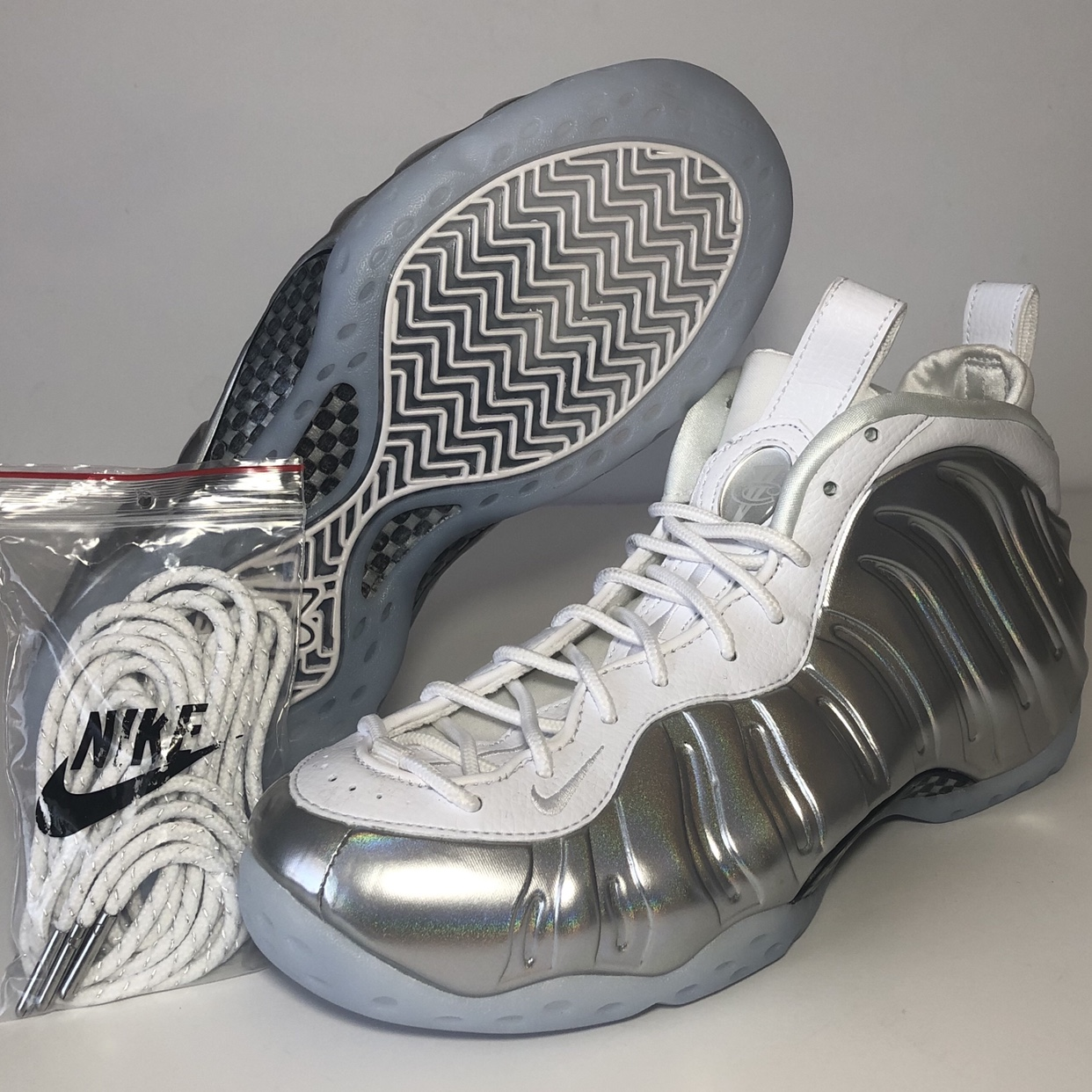 NEW Nike Air Foamposite One Summit White Marble eBay