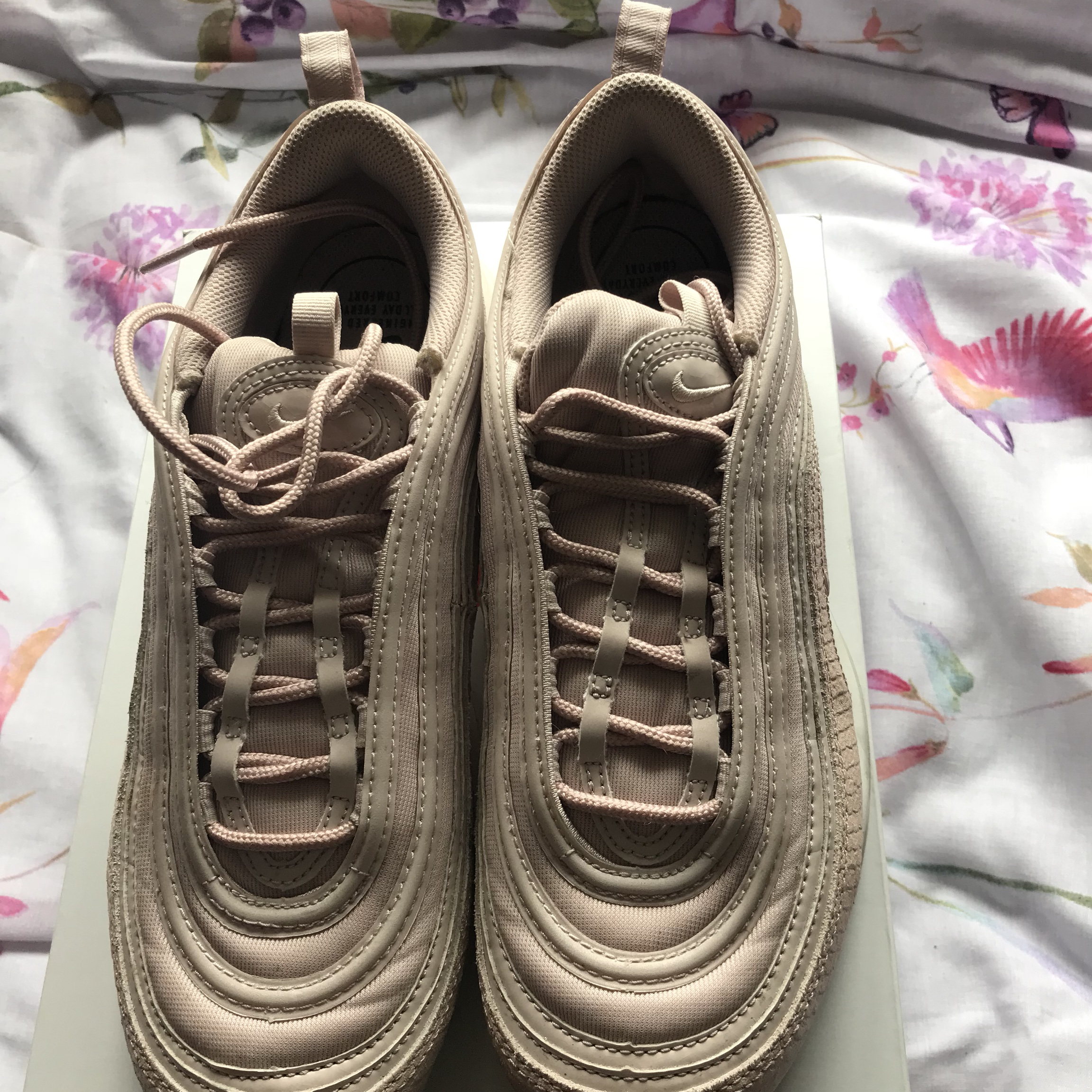 Ladies Nike air max 97 size 8 true to size. Worn a Depop