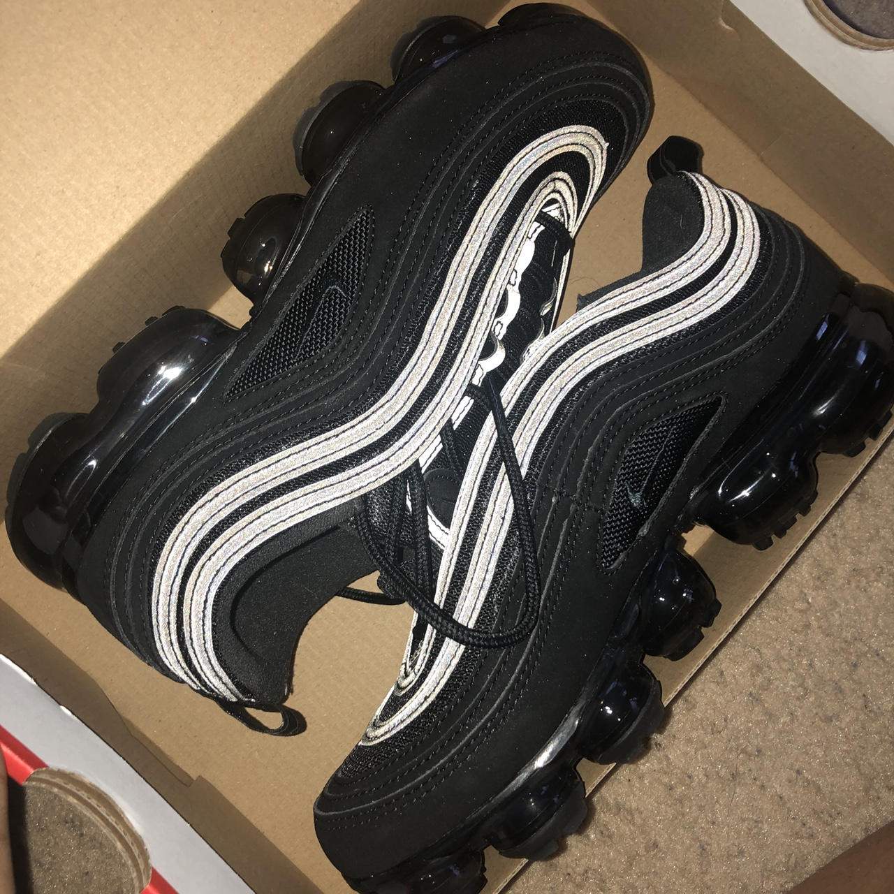 wholesale dealer 8ba4b 05c2d ON HOLD !!!NEVER WORN Nike Air VaporMax 97 (big... - Depop