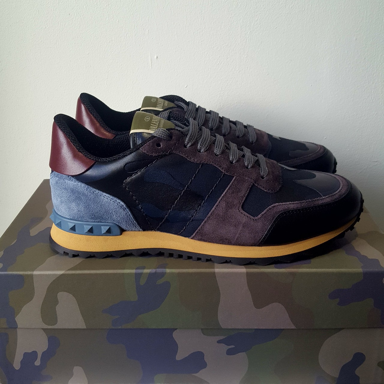 Valentino Camouflage Rockrunners