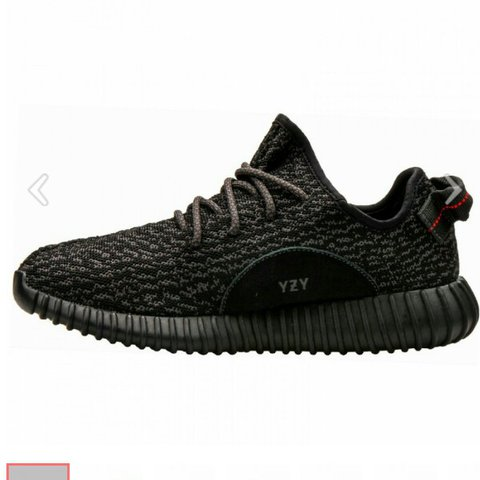 37cddb0cfdd80 Adidas original yeezy boost 350 pirate black  From offer - Depop