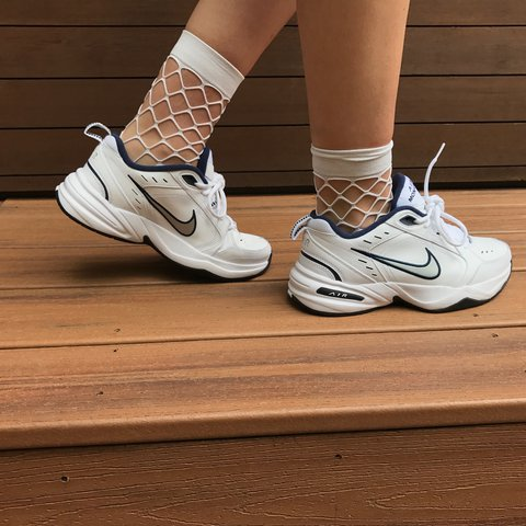01afb8795b2d 🌎NIKE AIR MONARCH SNEAKERS🌍 get you dad vibes on in these - Depop