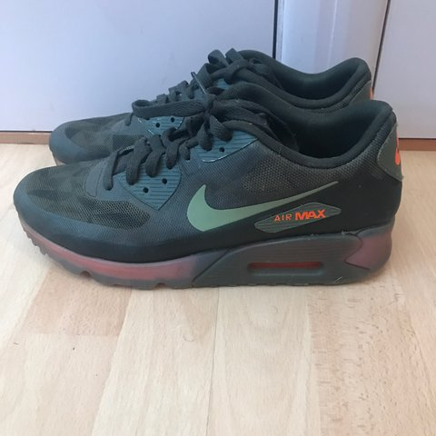 brand new 8f535 bed81  t l1. 2 years ago. Whitstable, United Kingdom. Nike Air Max 90 Ice Pack dark  green.