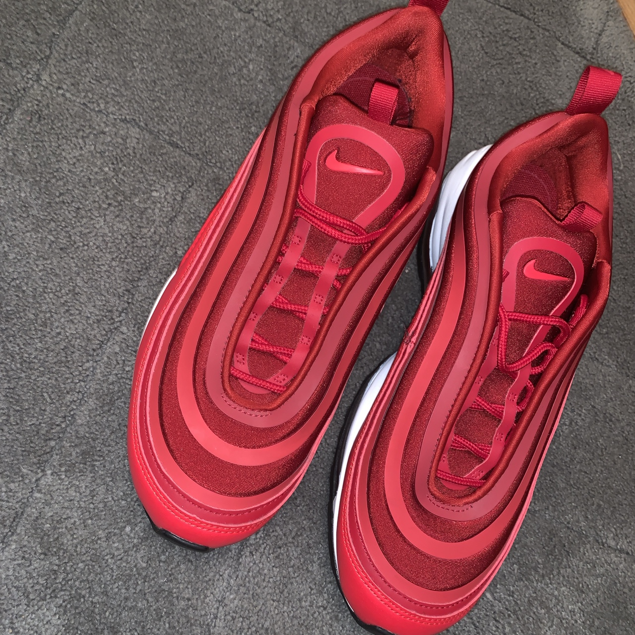 the latest cc5e6 d60a0 Nike air max 97 ultra 17 gym red. Rare and... - Depop