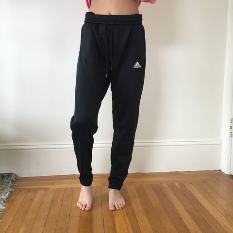 bc435957 ADIDAS CLIMALITE TRACK PANTS! too big for me, i'm an xs size - Depop
