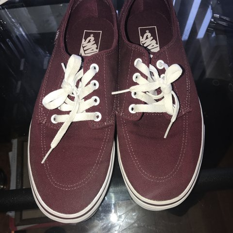 ad29c1ae94da @j_shir. 11 months ago. Los Angeles, United States. Burgundy low top vans  ...