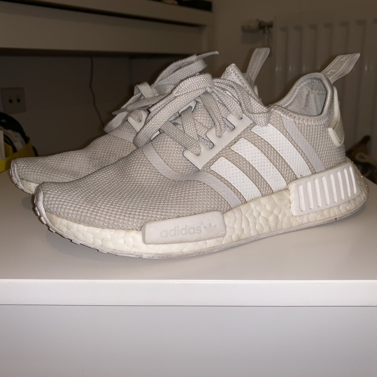 separation shoes c9999 0f3f7 adidas nmds white