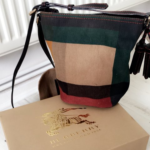 6181ea891512 Genuine authentic Burberry Ashby bag. Can still be found on - Depop