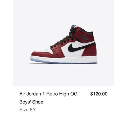 official photos 7ad66 7d239  supremeity. 5 months ago. Clarksville, United States. Nike Air Jordan 1  Retro high OG spider-man ...