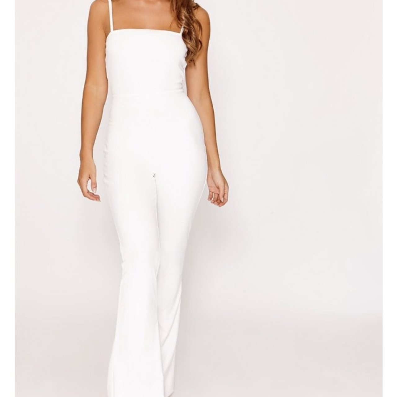 a9335ca0afe1 Stunning white jumpsuit. Brand new with tags. Size 10 £20 - Depop