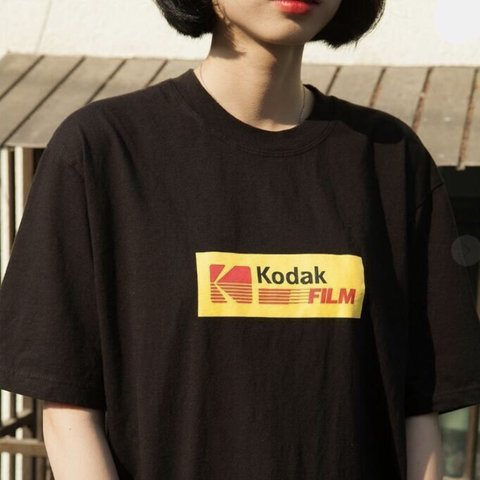 349092a3b Products By Kodak Unisex T Shirt Out Now Organic Cotton Depop