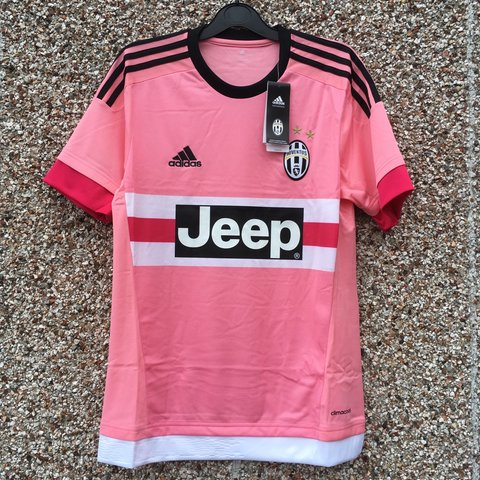 7f55eb72017 DOWN TO THE LAST FEW. Official Adidas Juventus pink football - Depop
